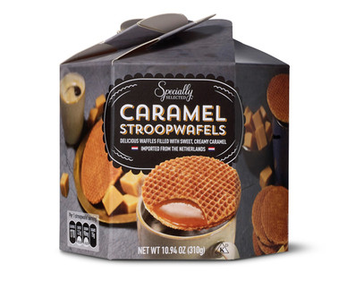 Specially Selected Caramel Stroopwafels