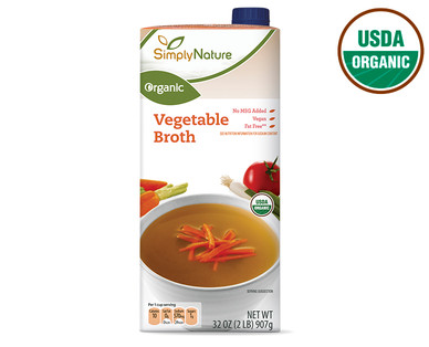 SimplyNature Organic Vegetable Broth