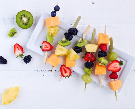 Fruit Salad Kebabs