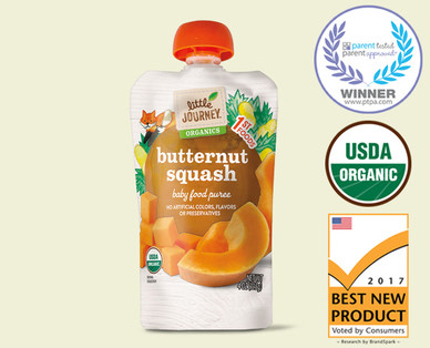 Little Journey Organic Butternut Squash Puree