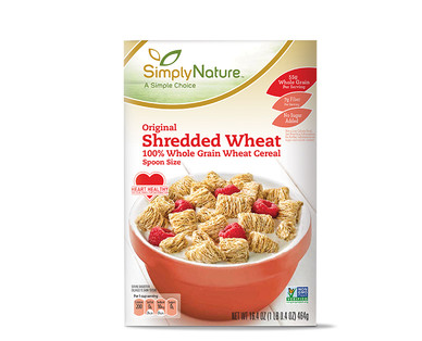 Simply Nature Original Shredded Wheat Cereal
