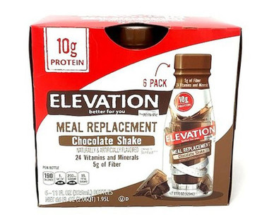 Elevation Chocolate Meal Replacement Shakes