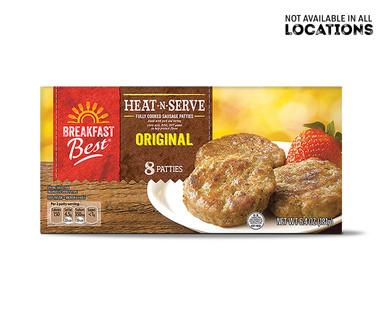 Breakfast Best Heat 'N Serve Sausage Patties View 1