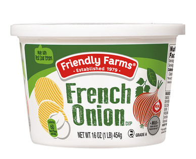 Friendly Farms French Onion Dip