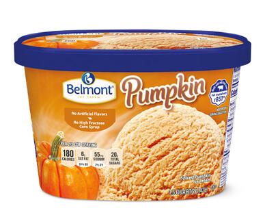 Belmont Pumpkin Winter Seasonal Ice Cream