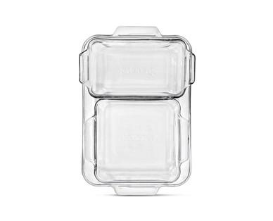 Crofton 3-Piece Glass Baking Dish Set View 4
