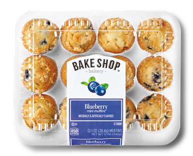 Bake Shop Blueberry Mini Muffins
