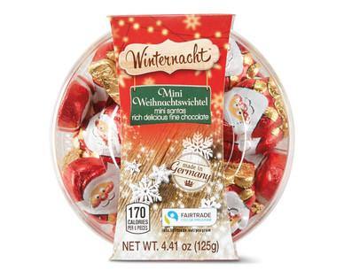 Winternacht Mini Santas
