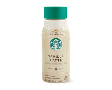 Starbucks Vanilla Latte Iced Coffee