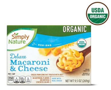 Simply Nature Organic Deluxe Macaroni & Cheese