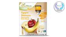 Simply Nature Apple Banana Fruit Squeezies. View Details.
