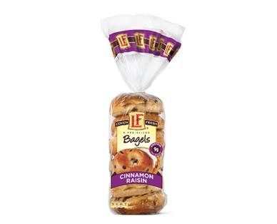L'oven Fresh Cinnamon Raisin Swirl Bagels