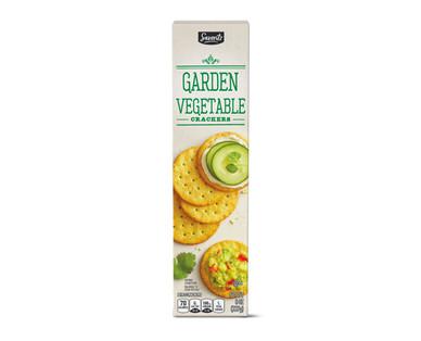 Savoritz Garden Vegetable Entertainment Crackers