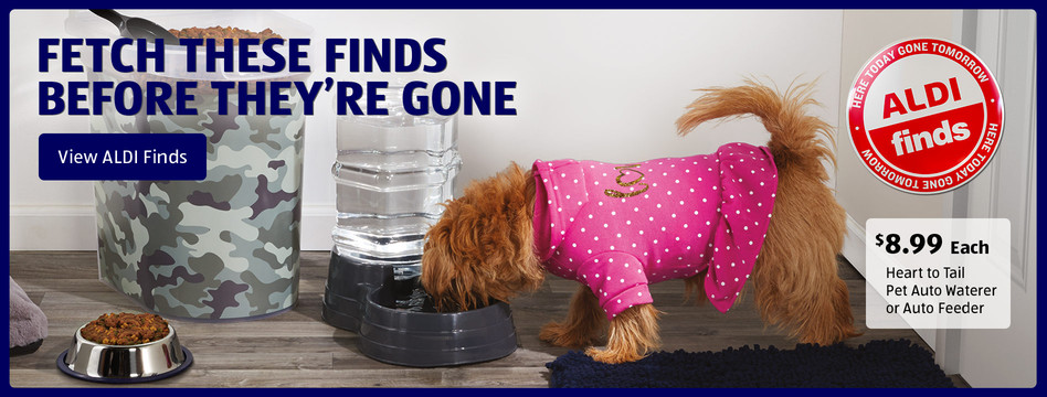 Fetch these finds before they're gone. View ALDI Finds.