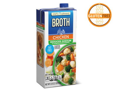 Chef's Cupboard Reduced Sodium Chicken Broth