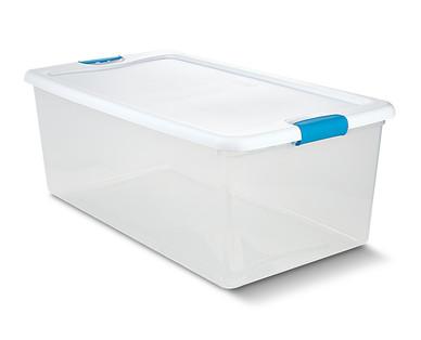Easy Home 106-Quart Latching Box View 4