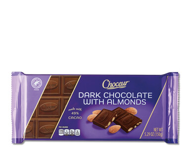 Choceur Dark Chocolate Almond Bar