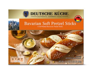 Deutsche Küche Bavarian Soft Pretzels or Pretzel Sticks View 2