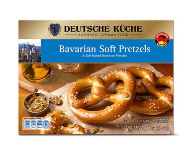 Deutsche Küche Bavarian Soft Pretzels or Pretzel Sticks View 1