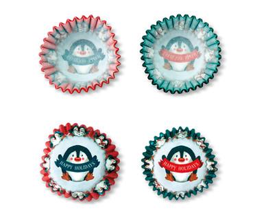 Penguin Mini Cupcake Liners