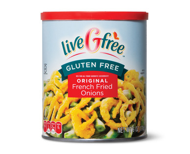 liveGfree Gluten Free French Fried Onions