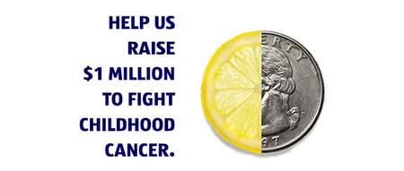 HELP US RAISE $1 MILLION TO FIGHT CHILDHOOD CANCER