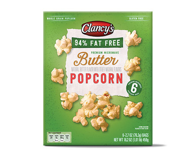 Clancy's 94% Fat Free Microwave Popcorn
