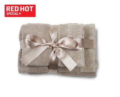 Huntington Home Signature Bath Towel or Hand Towel and Washcloth View 1