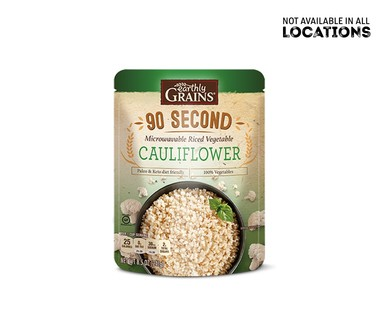 Earthly Grains Ready to Eat Cauliflower Rice View 1