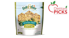 liveGfree Gluten Free Rosemary & Olive Oil Multiseed
