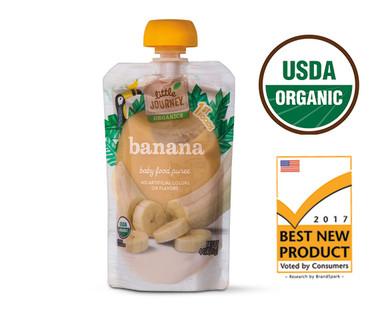 Little Journey Organic Banana Puree