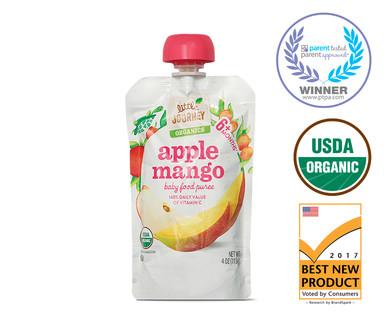 Little Journey Apple Mango Baby Food Puree