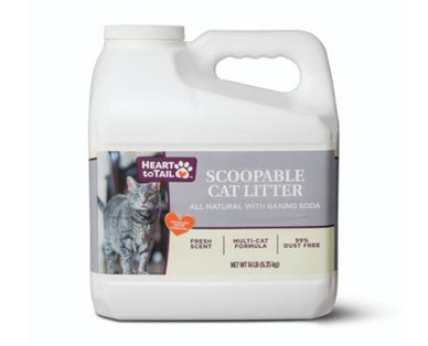 Heart to Tail Scoopable Cat Litter With Baking Soda