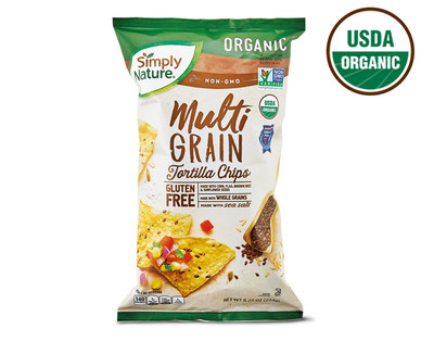 Simply Nature Multigrain Tortilla Chips