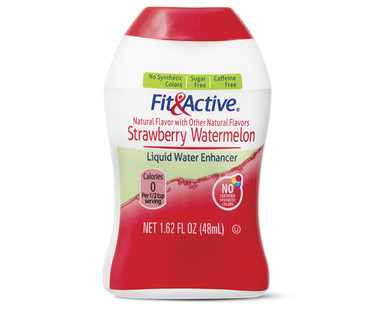 Fit and Active Strawberry Watermelon Liquid Water Enhancer
