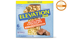 Elevation by Millville Nuts and Chocolate Wellness Bars. View Details.