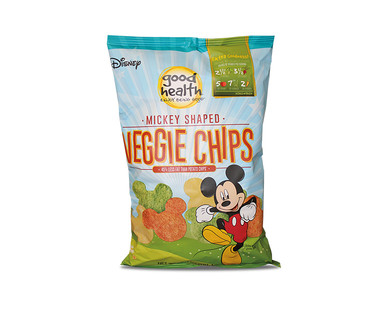 Good Health Mickey Shaped Veggie Chips View 1