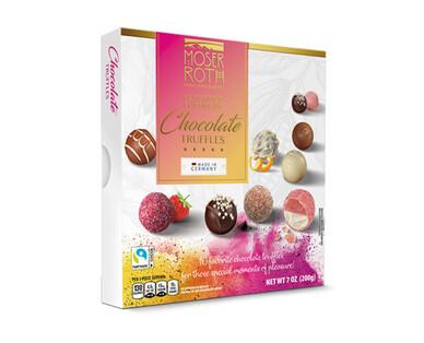 Moser Roth Luxurious European Chocolate Truffles