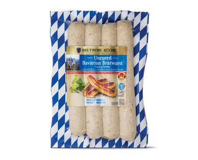 Deutsche Kuche Uncured Bavarian Bratwurst