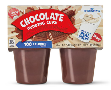 Lunch Buddies Chocolate Pudding Cups