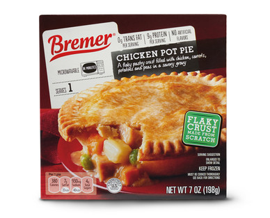 Bremer Chicken Pot Pie Aldi Us