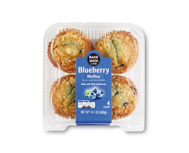 Bake Shop Blueberry Muffins