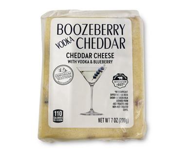 Emporium Selection Boozeberry Vodka Cheddar Cheese