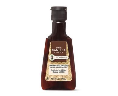 Stonemill Pure Vanilla Extract Bottle