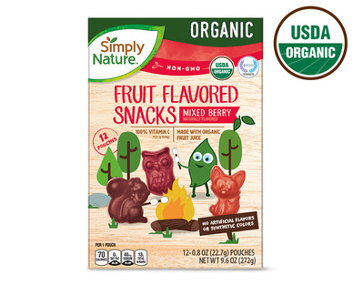 Simply Nature Organic Fruit Snacks