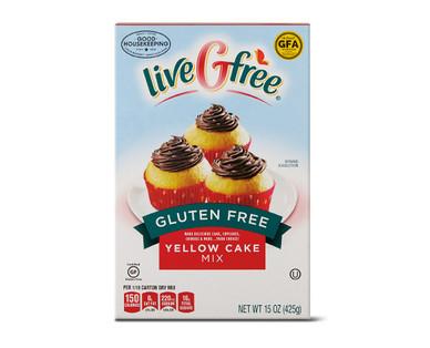 liveGfree Gluten Free Yellow Cake Mix