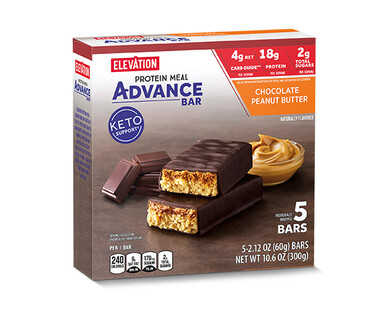 Elevation Advance Meal Bars Chocolate Peanut Butter
