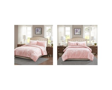 Huntington Home Crushed Velvet Comforter Set View 4