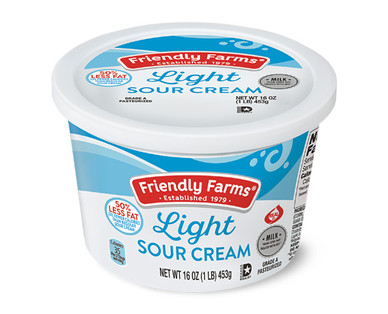 Friendly Farms Light Sour Cream