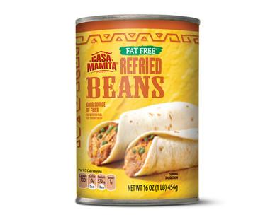 Casa Mamita Fat Free Refried Beans